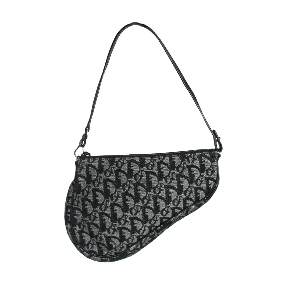 745838771d0 Bolsa Christian Dior Saddle Mini Monograma