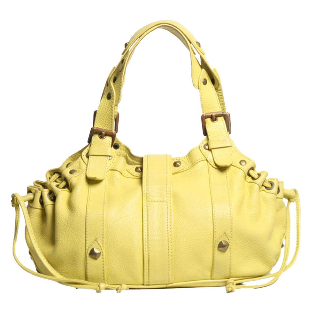 Bolsa-Daslu-Couro-Amarelo
