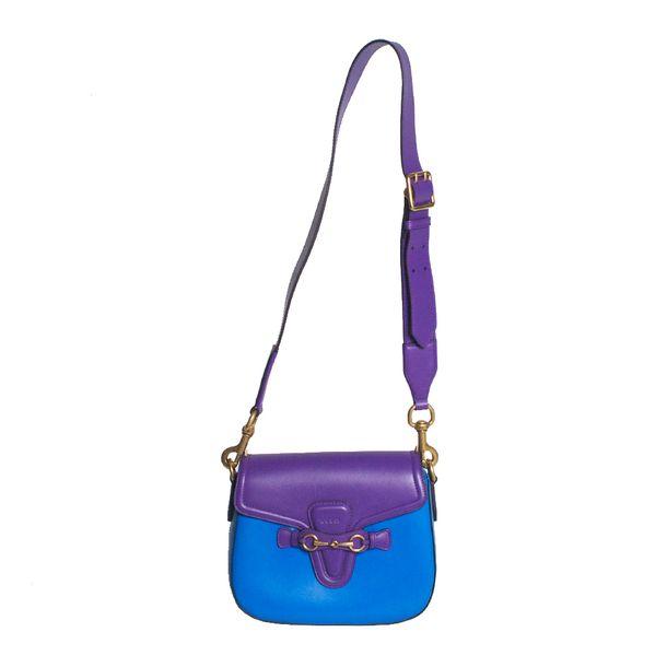Bolsa-Gucci-Lady-Web-Couro-Bicolor