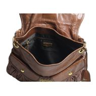 Bolsa-Miu-Miu-Coffer-Leather-Caramelo