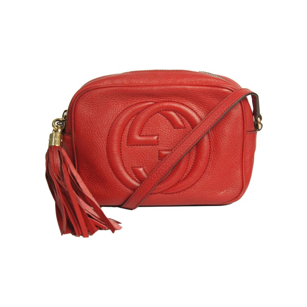 1ecde7bda57 Bolsa Gucci Soho Disco Vermelha. Previous