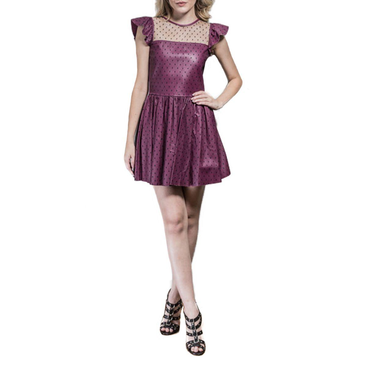 Vestido-Red-Valentino-Roxo