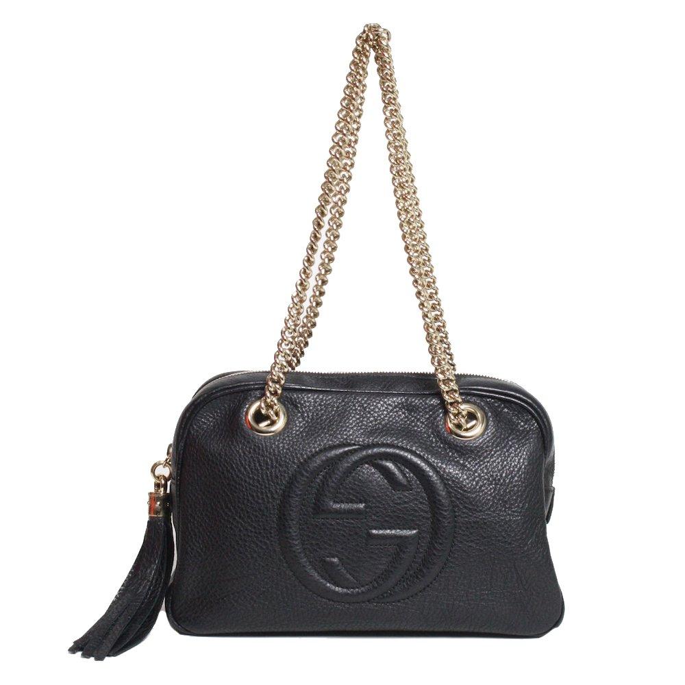 1d7b980059 Bolsa Gucci Soho Chain Shoulder Bag | Brechó de Luxo - prettynew