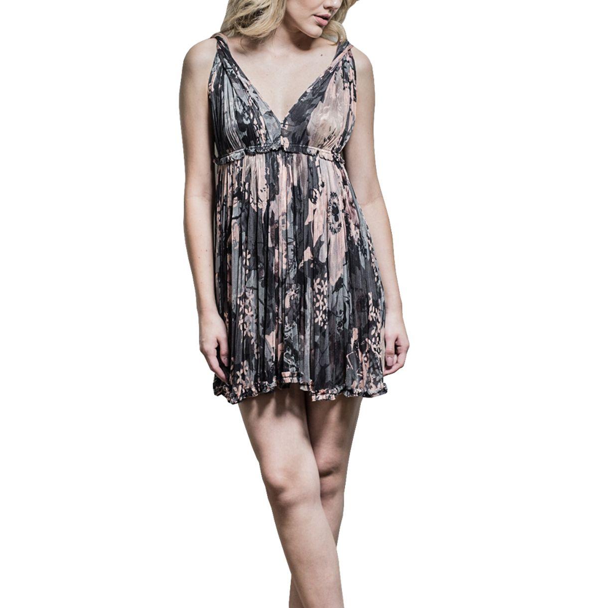 Vestido-Dolce-Gabbana-Estampado