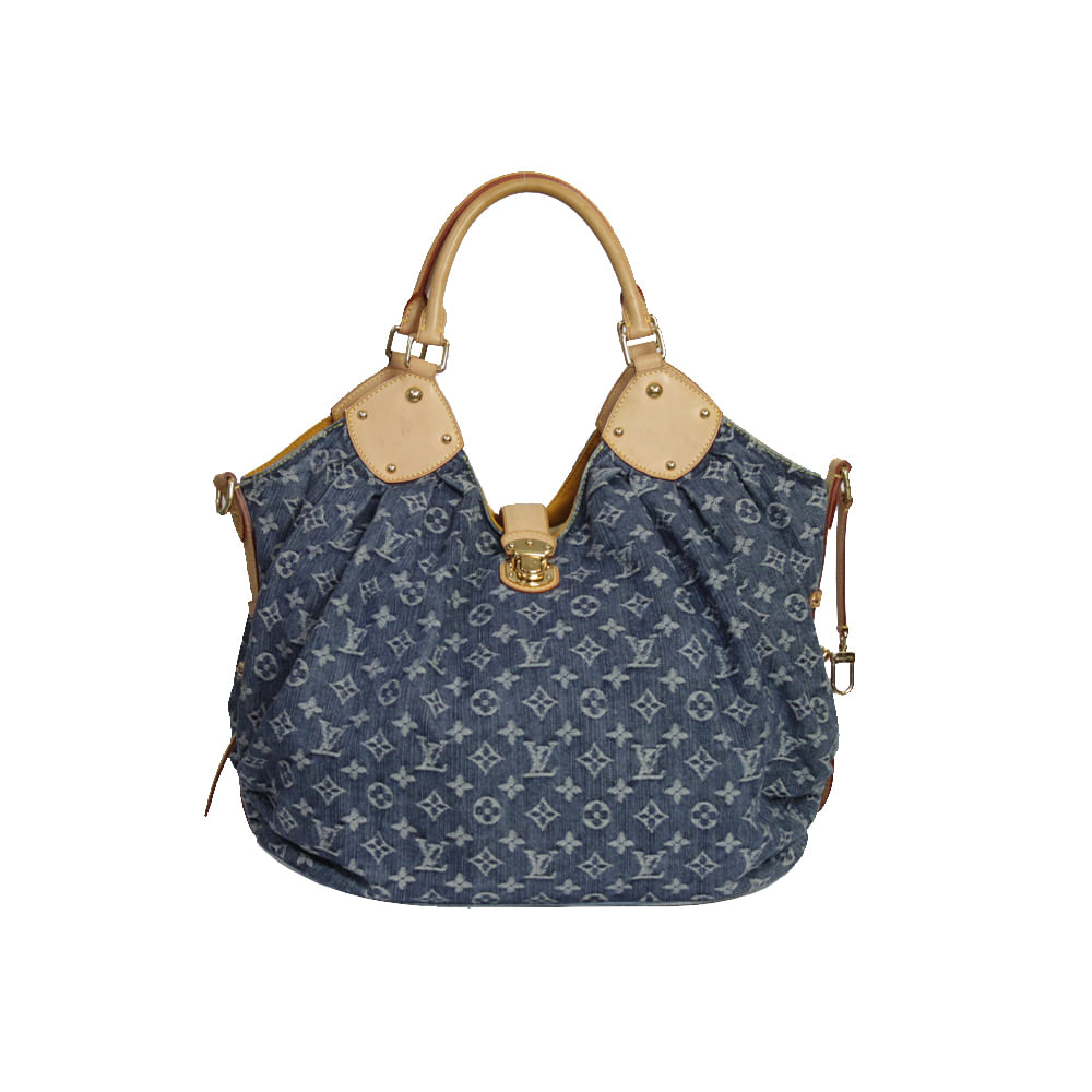 3602ec63c8a Bolsa Louis Vuitton Mahina Denim XL