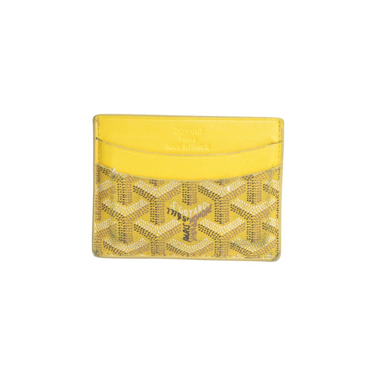 Porta-Cartao-Goyard-Amarelo