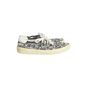Tenis-Saint-Laurent-Estampado-Preto-e-Branco