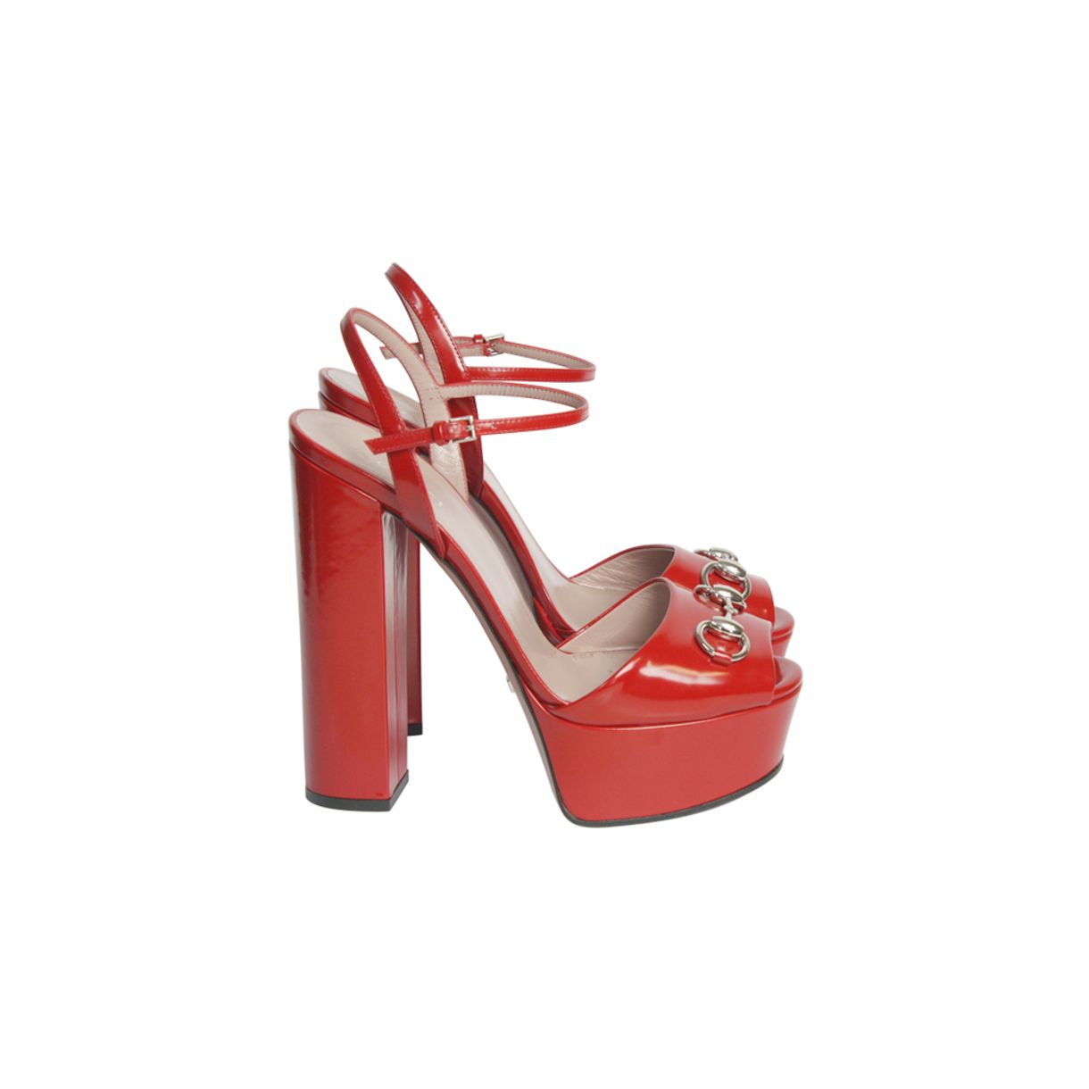 Sandalia-Gucci-Claudie-Verniz-Vermelha