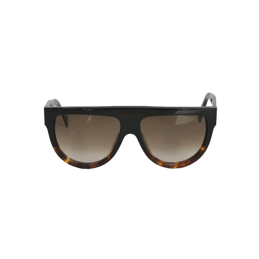 Oculos Celine FU55I Bicolor   Brechó de luxo - prettynew 12cfc56e74