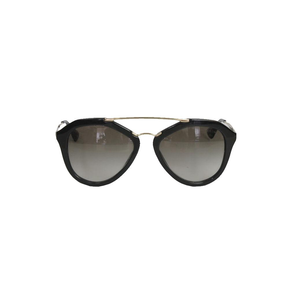 Oculos Prada SPR12Q Preto   Brechó de luxo   Pretty New - prettynew ece280d821