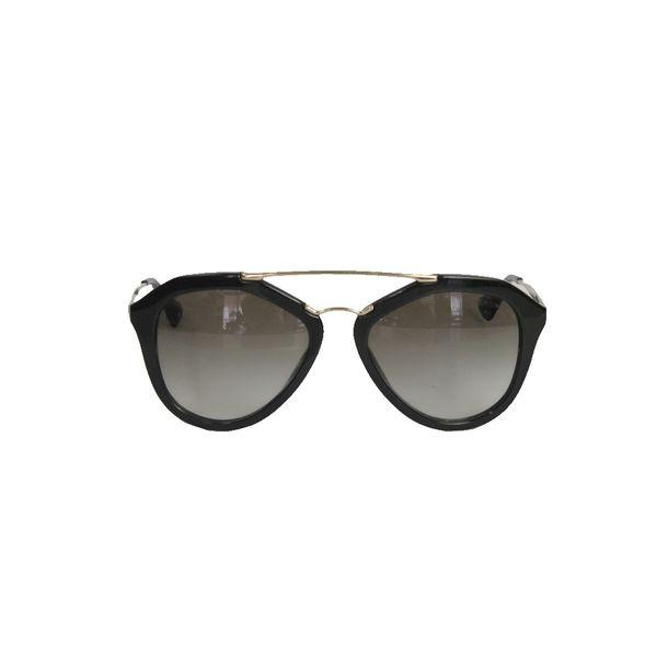 4a5494818 Oculos Prada SPR12Q Preto   Brechó de luxo   Pretty New - prettynew