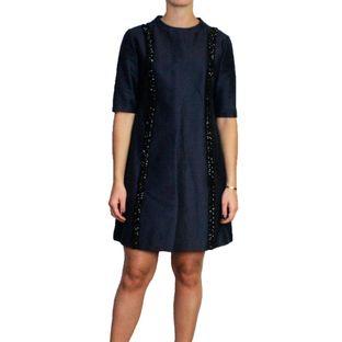 Vestido-Stella-McCartney-Azul-com-Pedrarias