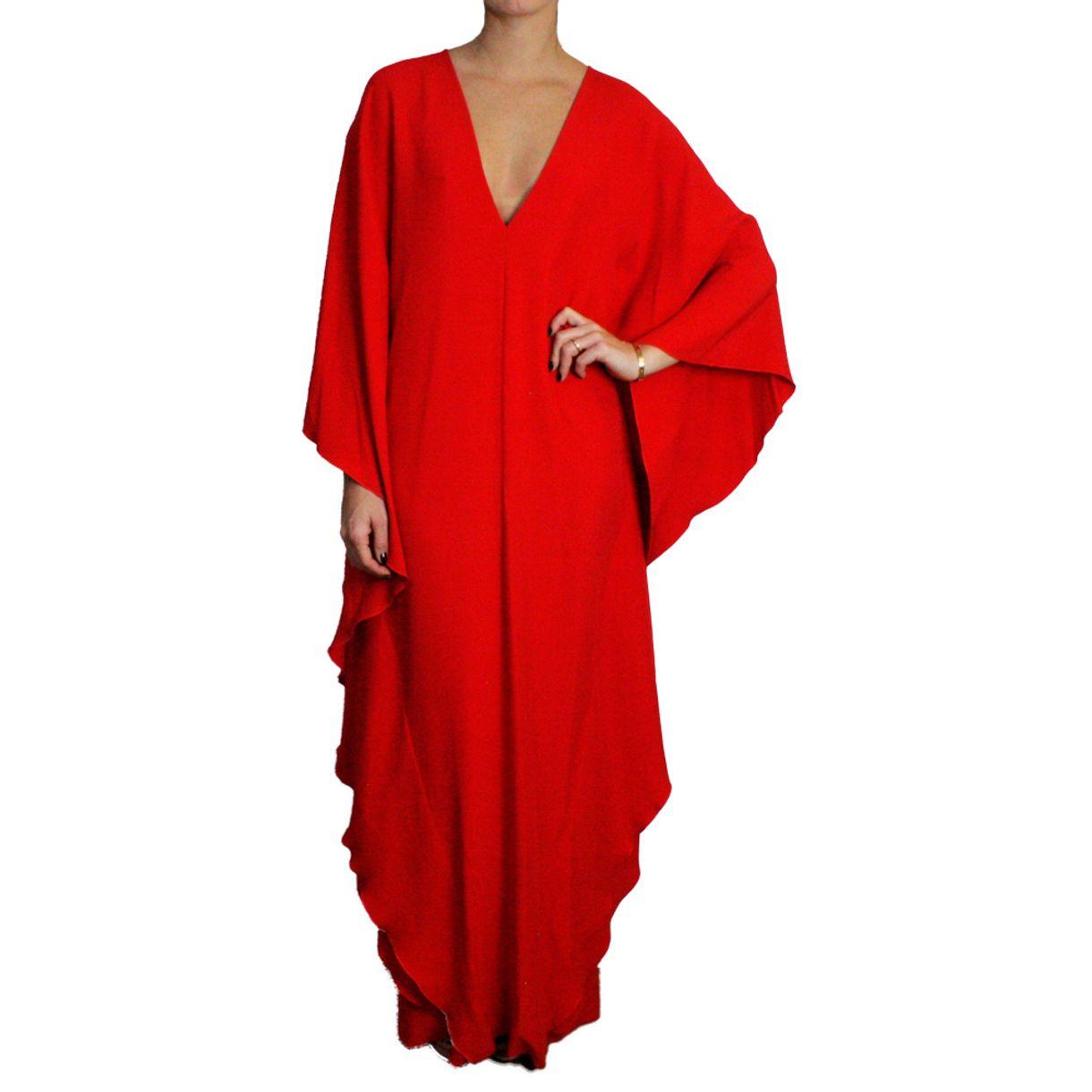 Vestido-Ralph-Lauren-Longo-Vermelho