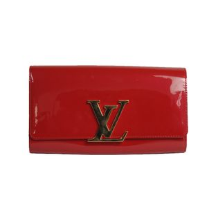 Clutch-Louis-Vuitton-Verniz-Vermelha