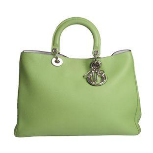 Bolsa-Christian-Dior-Diorissimo-Grande-Verde