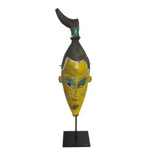 Mascara-Africana-Amarela