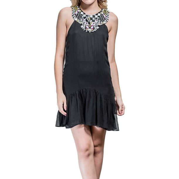 Vestido-Matthew-Williamson-Preto