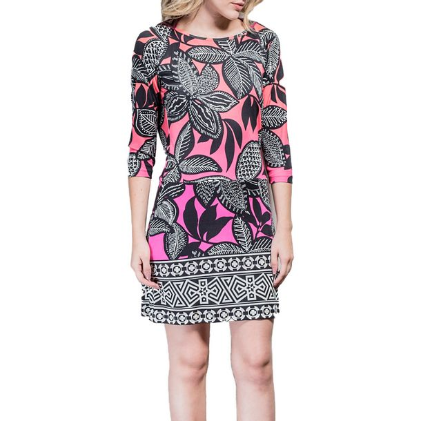 Vestido-Matthew-Williamson-Estampado