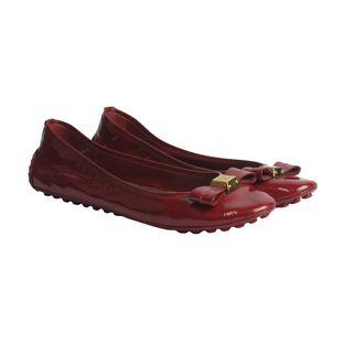 Sapatilha-Louis-Vuitton-Verniz-Vermelha