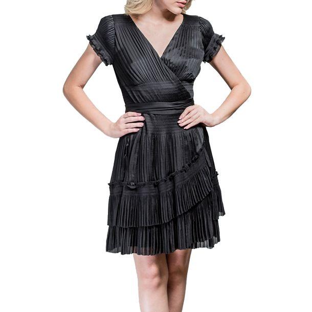 Vestido-Diane-Von-Furstenberg-Plissado