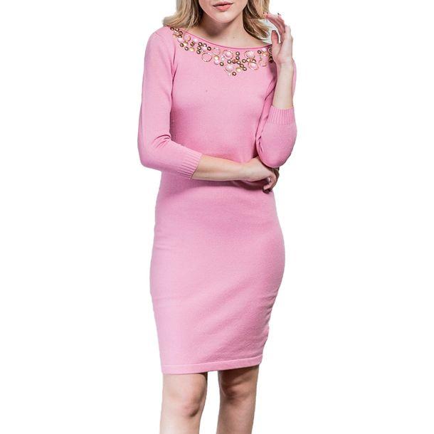Vestido-Blumarine-Rosa