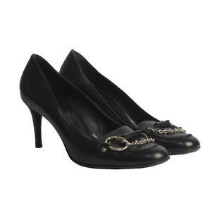 Sapato-de-Salto-Gucci-Couro-Preto