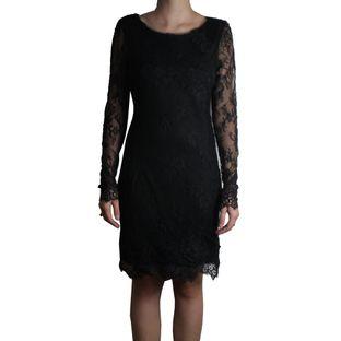 Vestido-Lethicia-Bronstein-Curto-Renda-Preta