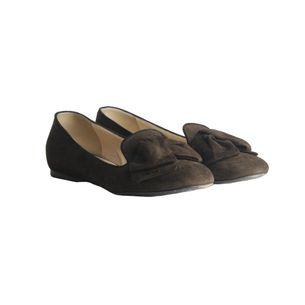 Loafer-Prada-Camurca-Marrom