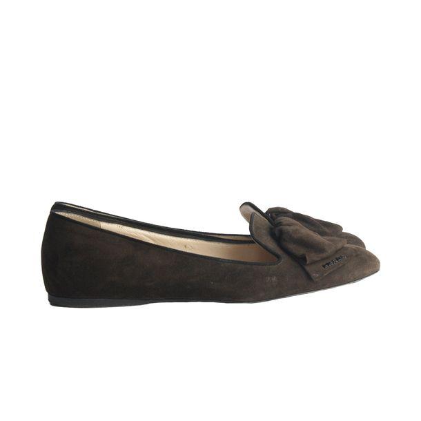 Loafer-Prada-Camurca-Marrom-1
