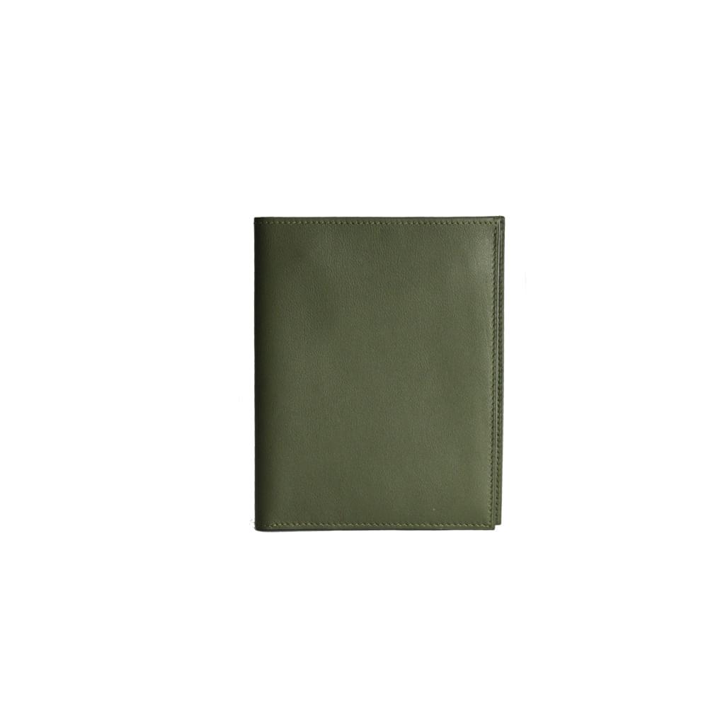 aa1175852c7 Carteira Hermes Verde