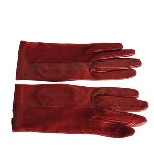 Par-de-Luvas-Hermes-Lambskin-Vermelha