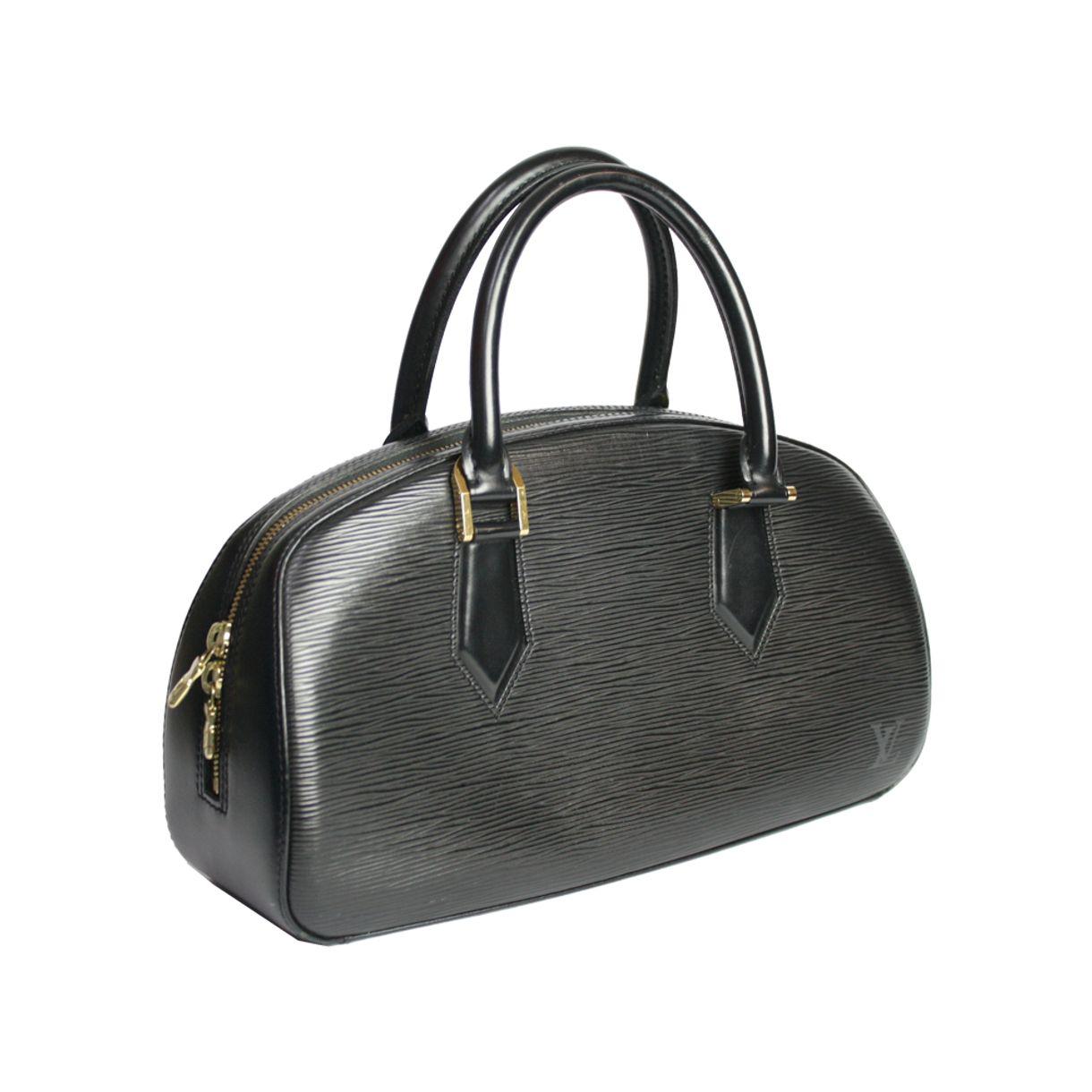 Bolsa-Louis-Vuitton-em-couro-Epi-preto