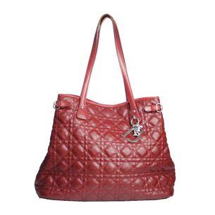 150f88daa0b Bolsa Christian Dior Cannage Panarea Vermelha