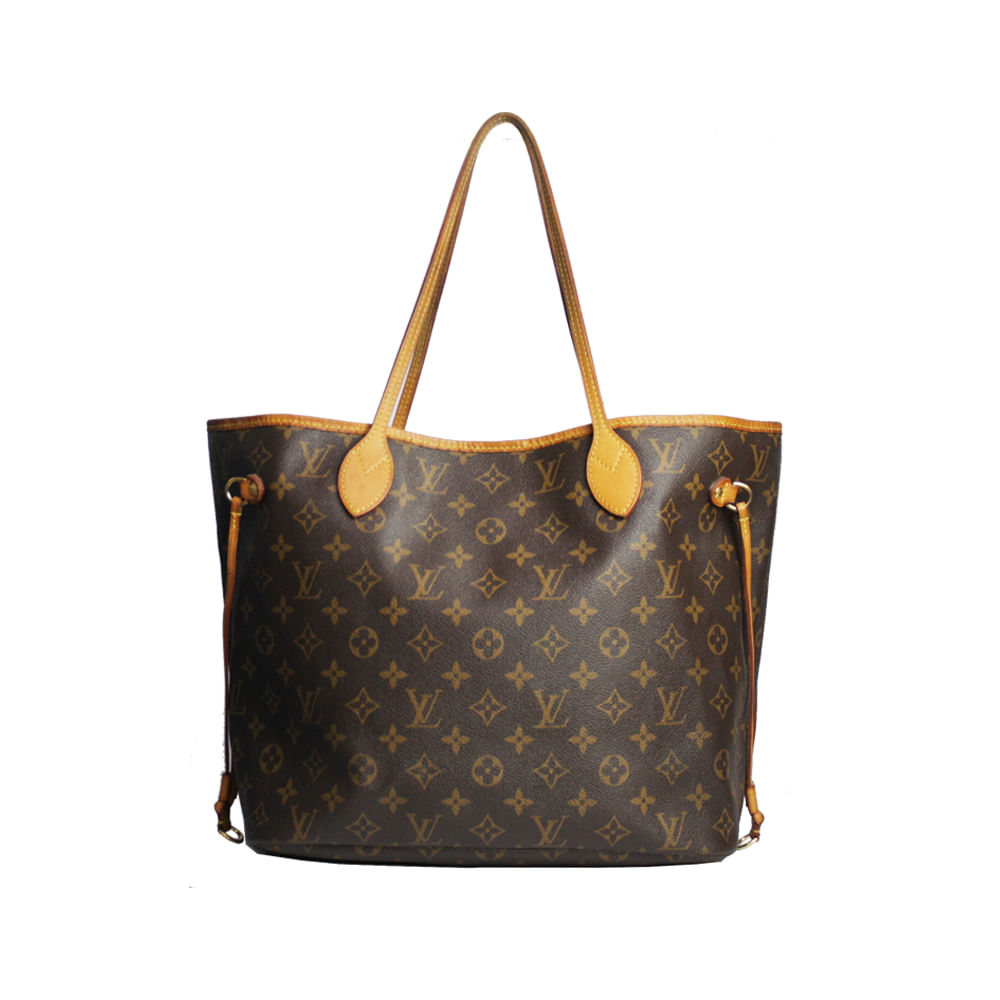 3f959ed76 Bolsa Louis Vuitton Neverfull Monogram | Brechó de luxo - prettynew