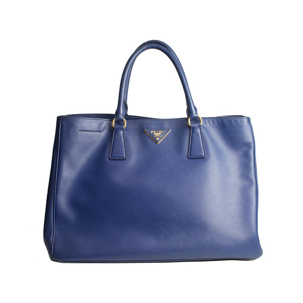 Bolsa Prada Large Saffiano Lux   Brechó de luxo - prettynew 2f40941229