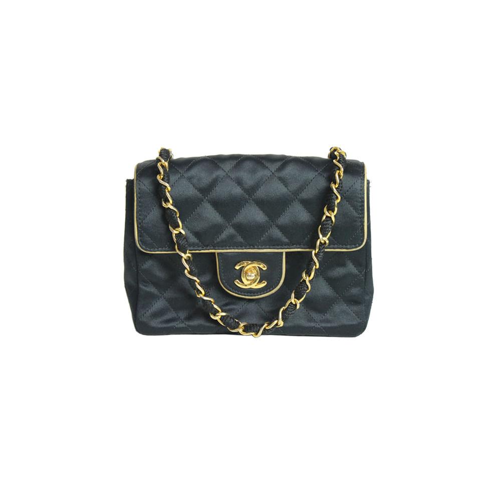 bd7507371 Bolsa Chanel Classic Mini Square | Brechó de luxo - prettynew
