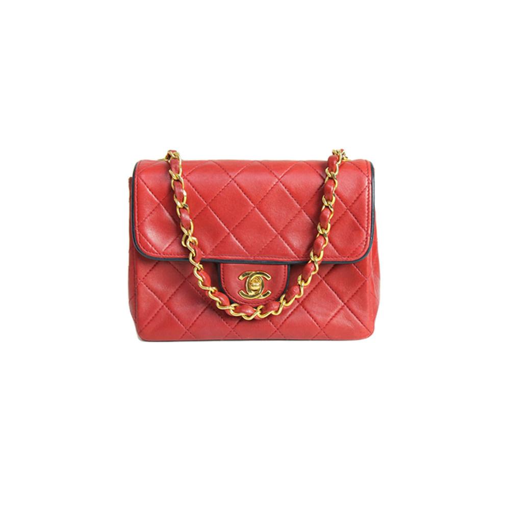 295fa51c7 Bolsa Chanel Classic Mini Square | Brechó de luxo - prettynew