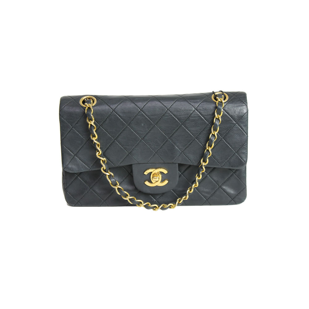 fda2bb97e9e2e Bolsa Chanel Vintage Classic Flap   Brechó de luxo - prettynew