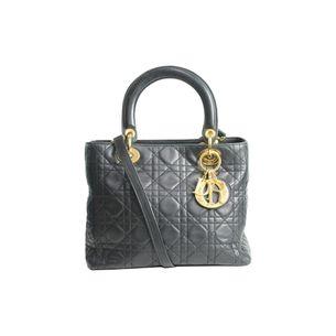 Bolsa-Lady-Dior-Matelasse-Vintage-Preta