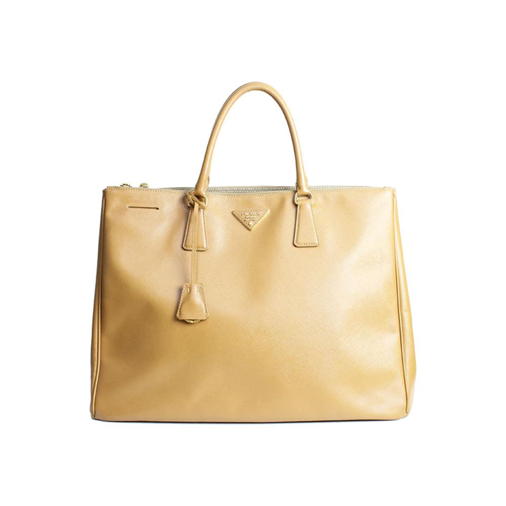 Bolsa Prada XLarge Saffiano Lux   Brechó de luxo - prettynew edf1402a46