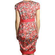 Vestido-Carolina-Herrera-Floral-Vermelho
