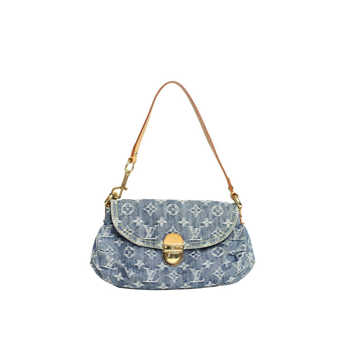 Bolsa-Louis-Vuitton-Monogram-Demim-Mini-Pleaty