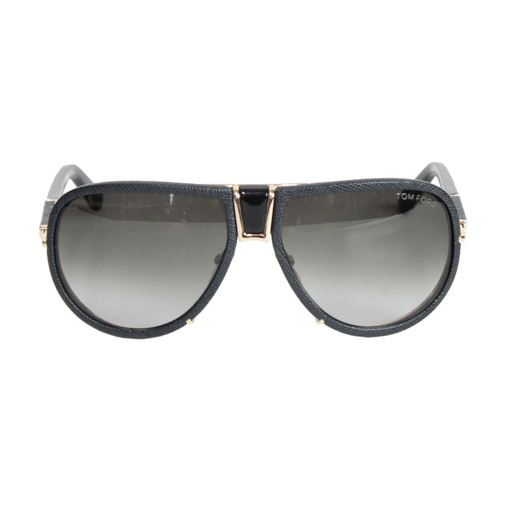 Óculos Tom Ford Cyrille Aviador Preto   Brechó de luxo - prettynew 92a8aecbec