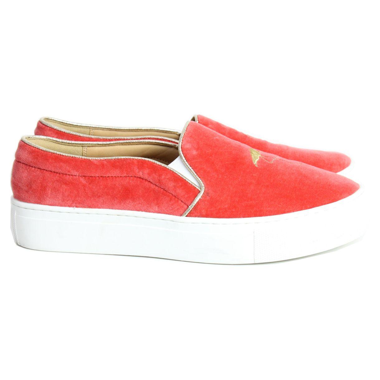 slipper-bing-xu-veludo-coral-flamingo
