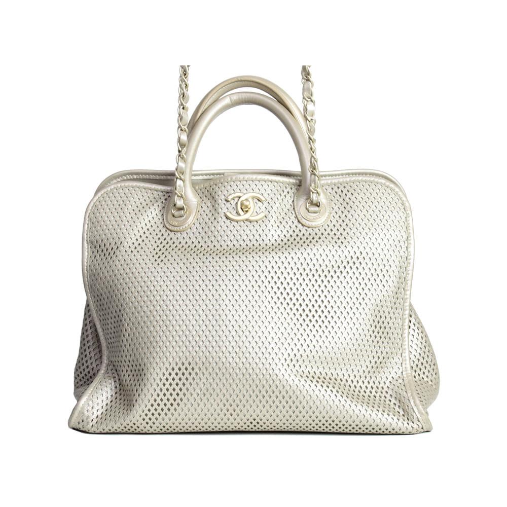 3b4de1565 Bolsa Chanel Dourada | Brechó de luxo | Pretty New - prettynew