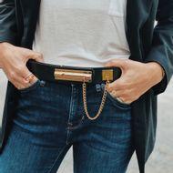 Cinto-Chanel-Vintage-Couro-Liso-Preto