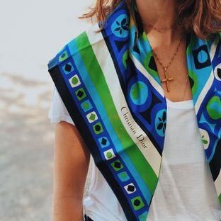 Lenco-de-Seda-Christian-Dior-Verde-e-Azul-80x80-