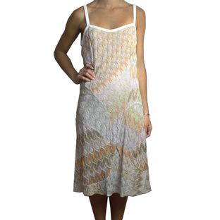 Vestido-Missoni-Tricot-Brilho-Rosado