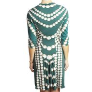 Vestido-Roberto-Cavalli-Verde-e-Perolas