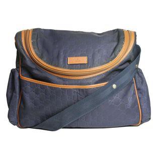 Bolsa-Gucci-GG-Diaper-Azul-Marinho